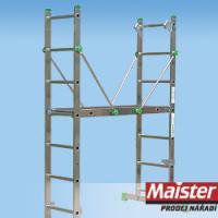 8507  LEŠENÍ Al 2x7 š 36,5/max. výška 122cm