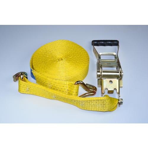 pás upínací s hákem,5t,50mm/10m,žlutý