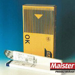 OK 74.46 30K0A tlakové nádoby Svařovací elektroda OK 74.46 2.5/350 30K0A tlak.nádoby 74462530K0 Svařovací elektroda