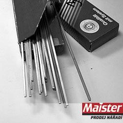 Degussa 500mm -tvrdé pájení Degussa Silfos 18 1.5-500mm s Ag-tvrdé pájení
