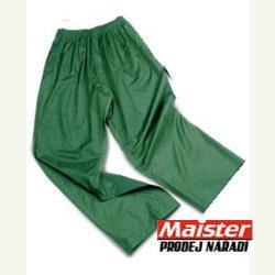 KALHOTY PRACOVNÍ PVC - DO DEŠTĚ pas zelené KALHOTY PRACOVNÍ PVC - DO DEŠTĚ pas zelené vel.M