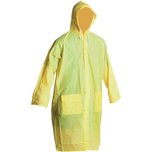 PLÁŠTĚNKA PRACOVNÍ PVC - DO DĚŠTĚ žlutá PLÁŠTĚNKA PRACOVNÍ PVC - DO DĚŠTĚ žlutá vel.XL