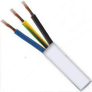 KABEL CYSY 3G2,5 barva pláště BÍLÁ, H05VV-F 20m
